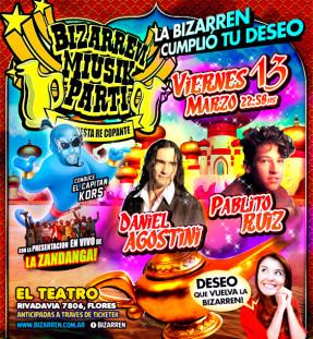 Fiesta Fiesta Viernes 13 de Marzo (El Teatro – Flores)