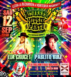 Fiesta Fiesta Sabado 12 de Septiembre (Teatro Vorterix Rosario)