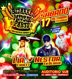 Fiesta Fiesta Sabado 17 de Octubre (Auditorio Sur – Temperley)