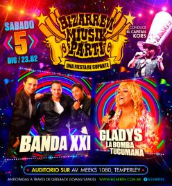 Fiesta Fiesta Sabado 5 de Diciembre (Auditorio Sur – Temperley)