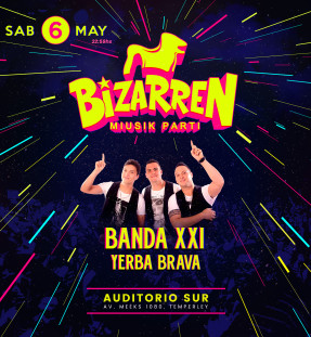 Fiesta Fiesta SAB 6 MAY (Auditorio Sur – Temperley)