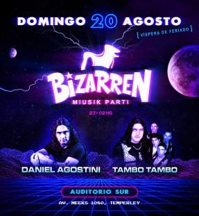 Fiesta Fiesta DOM 20 AGO (Auditorio Sur – Temperley)