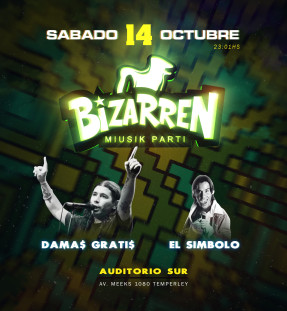 Fiesta Fiesta SAB 14 OCT (Auditorio Sur – Temperley)