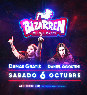 Fiesta Fiesta SAB 6 OCT (Auditorio Sur – Temperley)