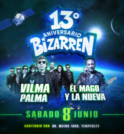 Fiesta Fiesta SAB 8 JUN 13º ANIVERSARIO (Auditorio Sur – Temperley)