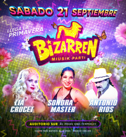 Fiesta Fiesta SAB 21 SEP (Auditorio Sur – Temperley)
